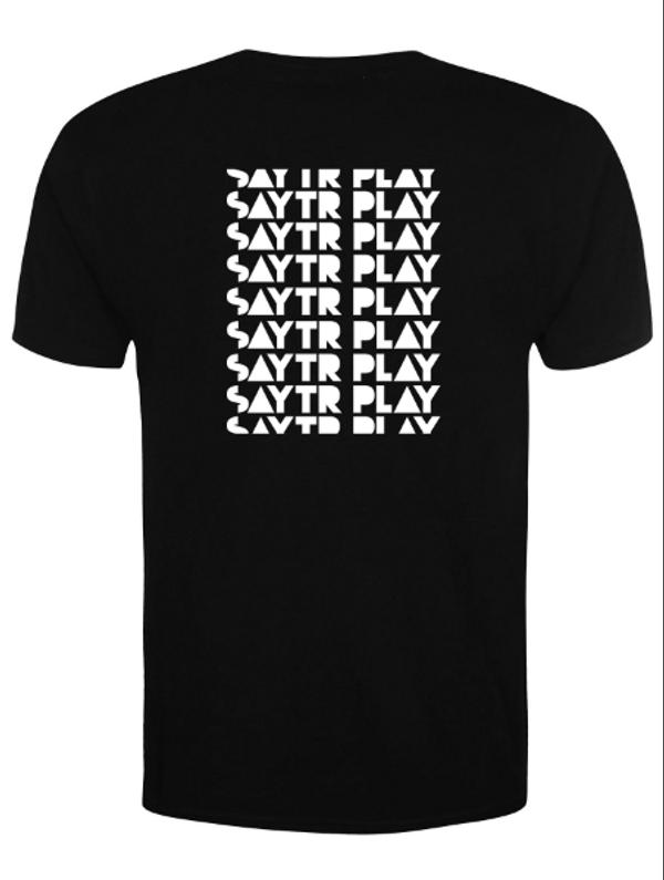 Logo T-Shirt & Vinyl Bundle - SAYTR PLAY