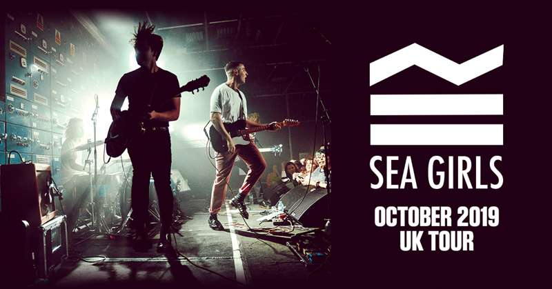 SEA GIRLS at Academy 2, Manchester on 17 Oct 2019