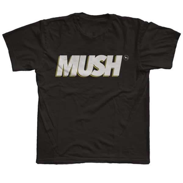 MUSH - Black T-Shirt - Seán McGowan