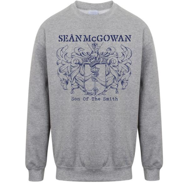 Son Of The Smith - Grey Sweater - Seán McGowan