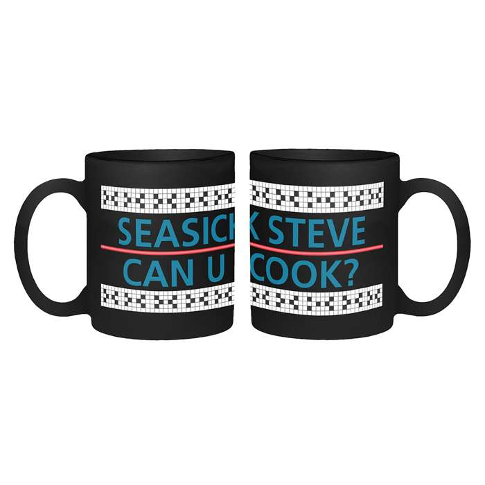 Can You Cook - Black Mug - Seasick Steve