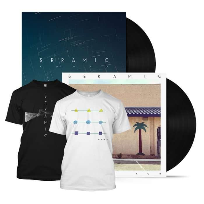 Double Vinyl + Double T-Shirt - Seramic