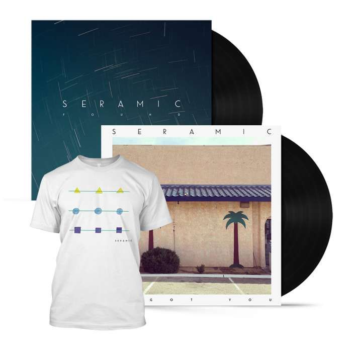 Double Vinyl + T-Shirt (White) - Seramic