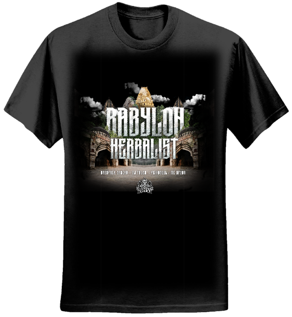 'Babylon Herbalist' T-shirt - Serial Killaz