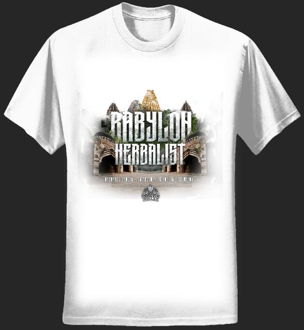 'Babylon Herbalist' T-shirt - Serial Killaz