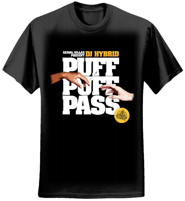 DJ HYBRID - PUFF PUFF PASS T-SHIRT - Serial Killaz
