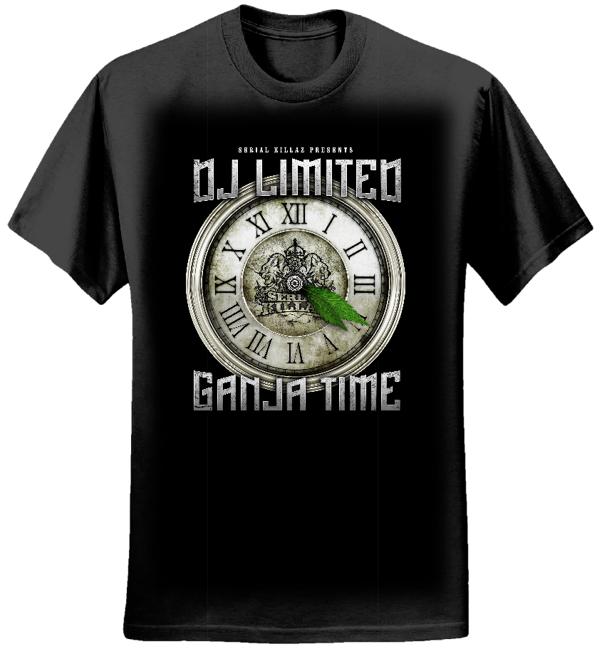 DJ LIMITED - GANJA TIME T-SHIRT - Serial Killaz
