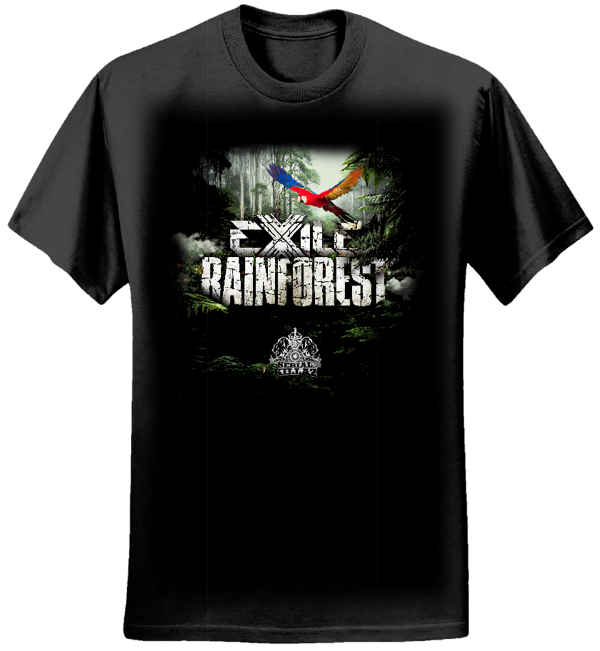 Exile 'Rainforest EP' T-shirt - Serial Killaz