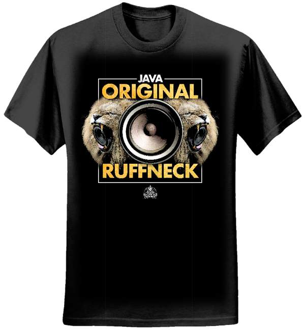 JAVA - 'ORIGINAL RUFFNECK' T-SHIRT - Serial Killaz