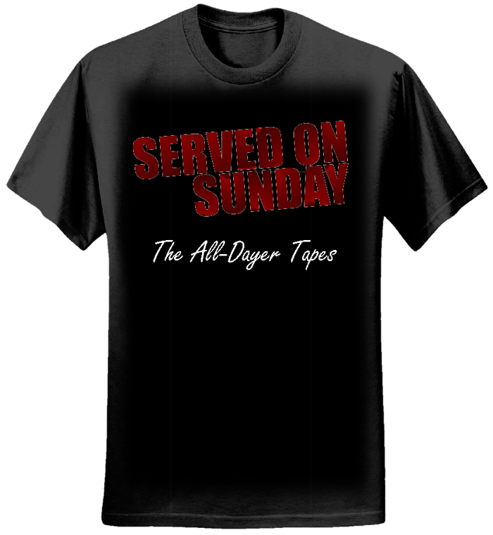 The All-Dayer Tapes Tee - Served on Sunday