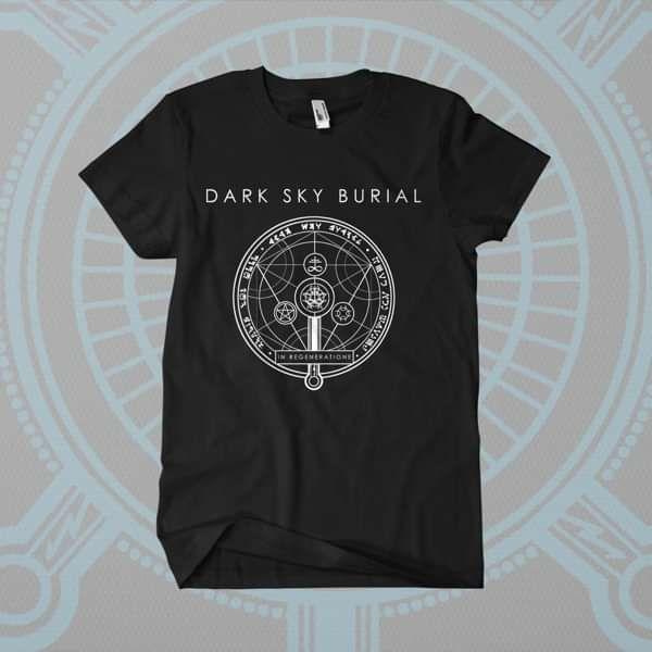 Dark Sky Burial - 'Symbol - v2' T-Shirt - Shane Embury