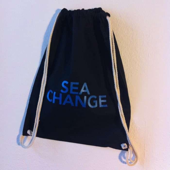 Sea Change - Navy Blue Bag - Shapes Recordings
