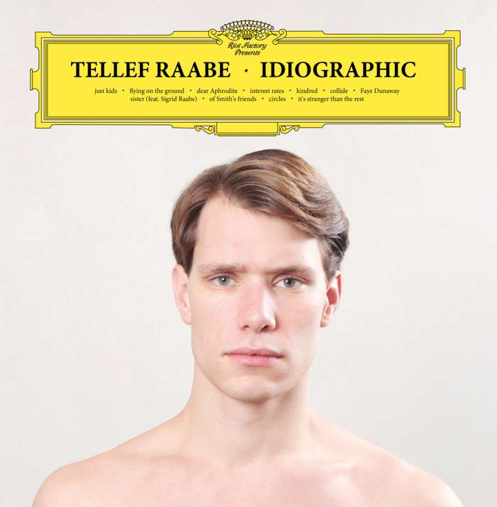 Tellef Raabe - Ideographic (Norwegian version LP) - Shapes Recordings