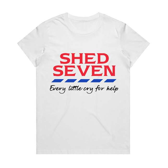 Every Little Cry for Help T-Shirt (23 tour dates) - Shed Seven