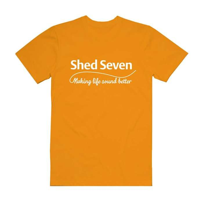Making Life Sound Better T-Shirt (23 tour dates) - Shed Seven