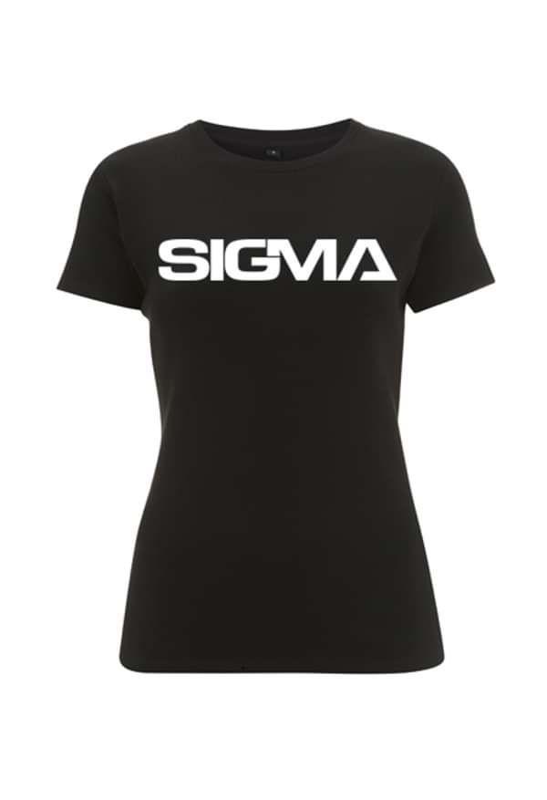 Sigma T-Shirt (Womens, Black) - Sigma