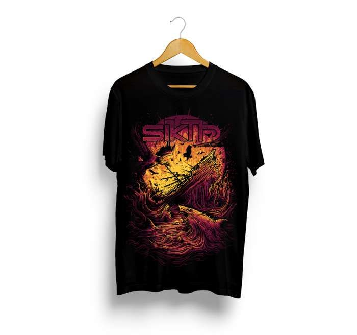 SikTh -  Another Sinking Ship T-Shirt - SikTh