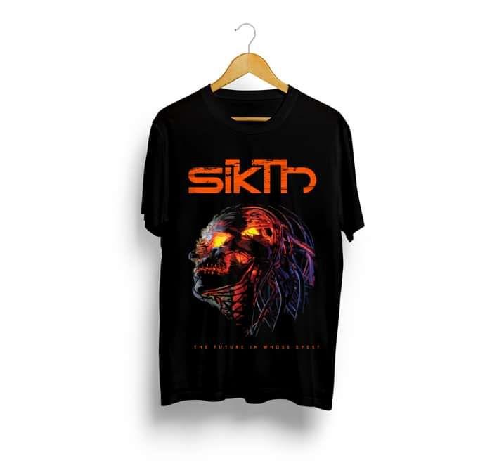SikTh - The Future Through Whose Eyes? Album T-Shirt - SikTh