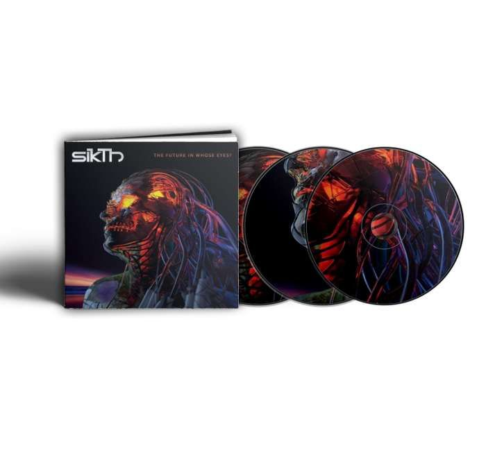 "SikTh - The Future Through Whose Eyes? Deluxe 3CD - 12"" Hardback Book Edition - SikTh"