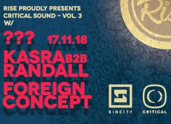 rise presents critical sound volume 3 at sin city swansea on 17 nov 2018 sin city