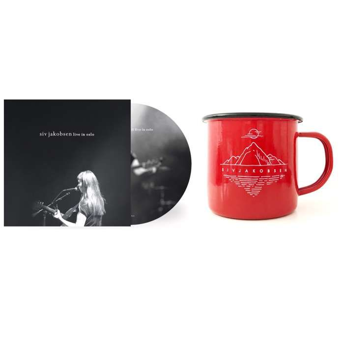 Live In Oslo CD Merch Bundle (CD + Enamel Mug) - Siv Jakobsen