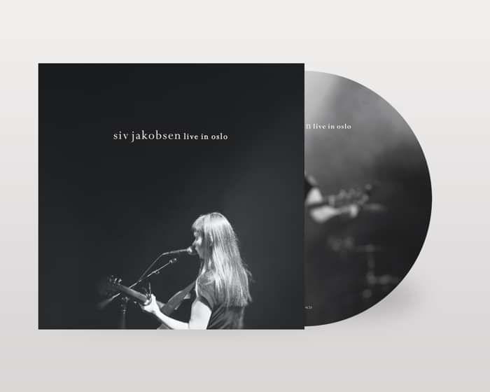 Live In Oslo CD + Digital Download (Signed or Unsigned) - Siv Jakobsen