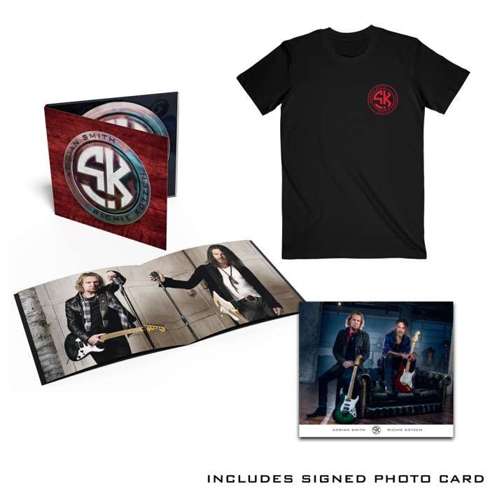Tee / CD Bundle + Signed Photo Card - Smith Kotzen USA