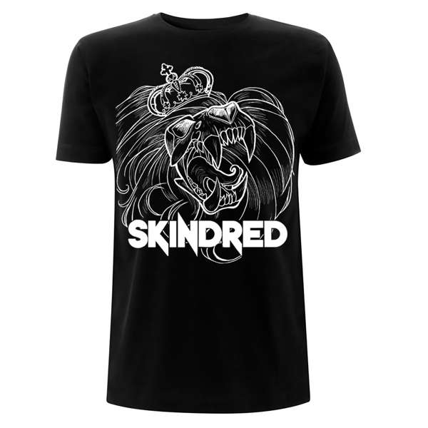 Lion - Black Tee - Skindred