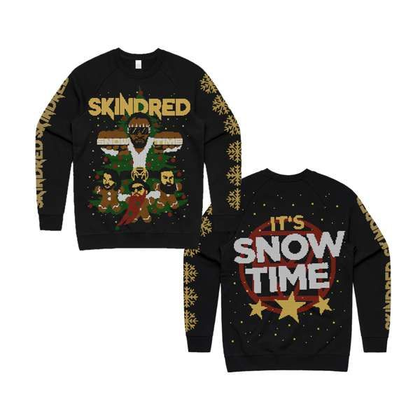 Snow Time - Holiday Sweatshirt - Skindred