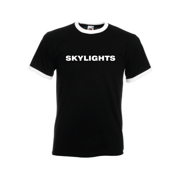 Skylights '20' Black T-Shirt - Skylights