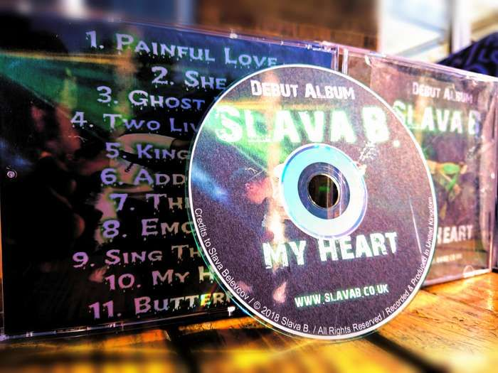Slava B. - Debut Album My Heart [ Audio CD Edition ] - Slava B.