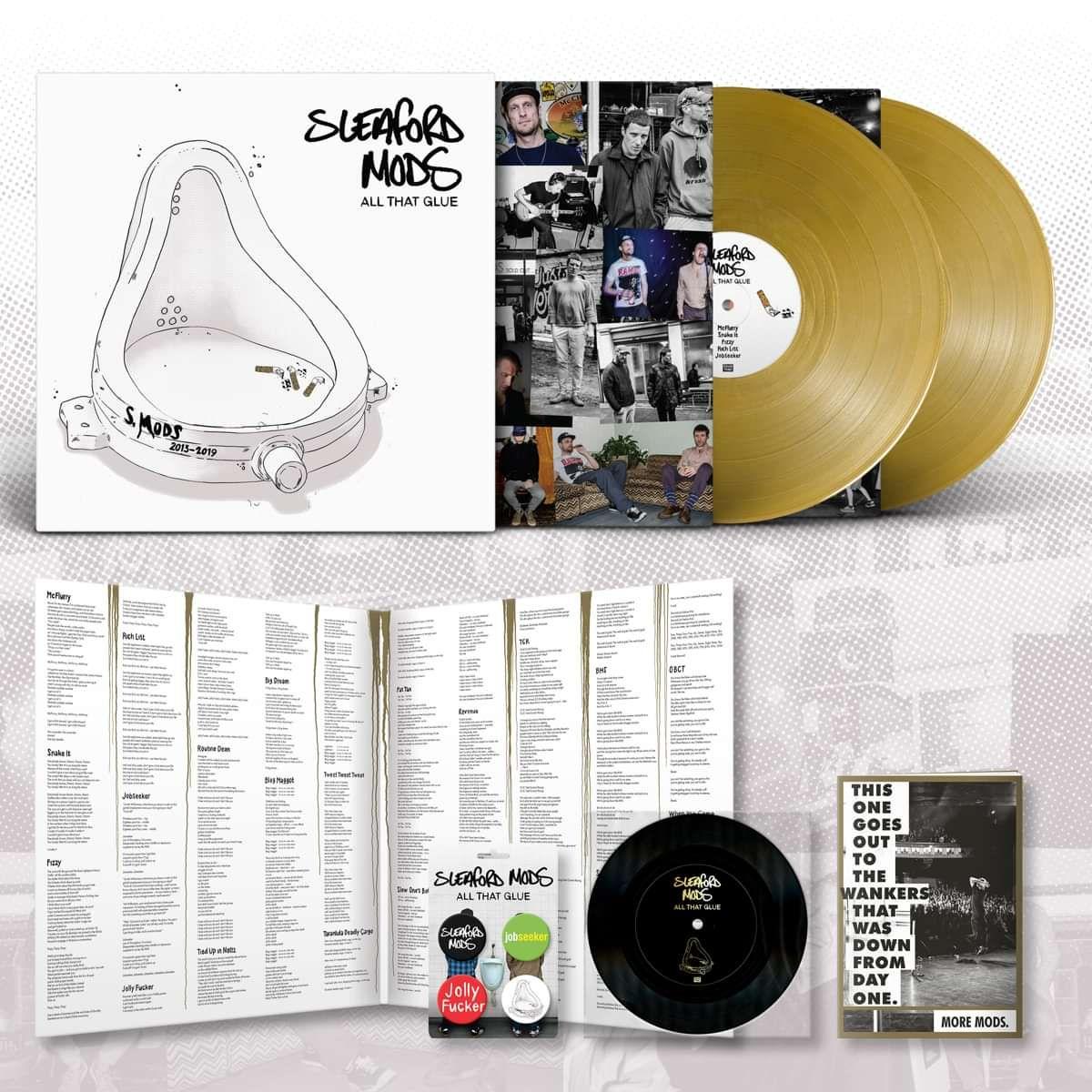 All That Glue 2lp Gold Vinyl Webstore Exclusive