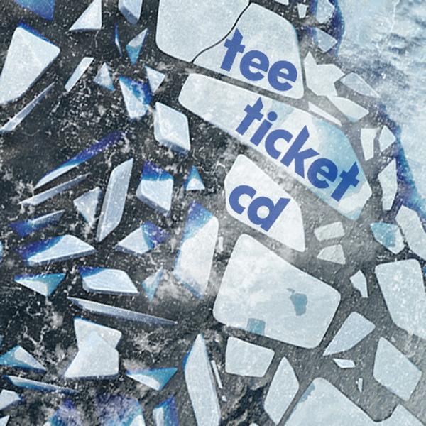 Ticket, CD & T-shirt Bundle - sleepmakeswaves