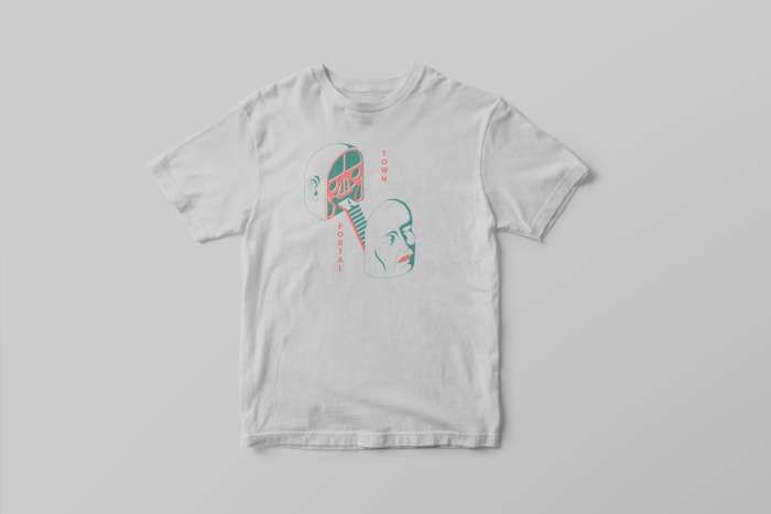 Town Portal Vanitas Design T-Shirt - Small Pond