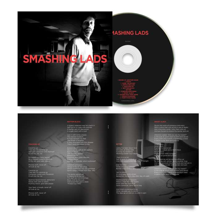 SMASHING LADS - Debut album on CD - Smashing Lads