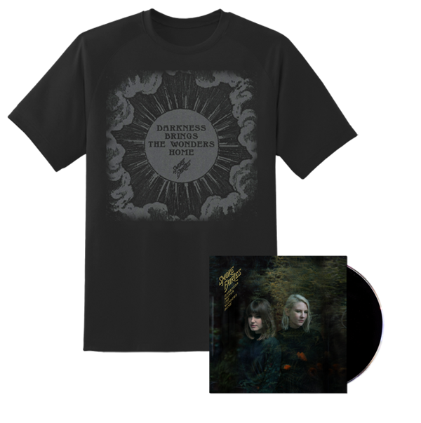 BUNDLE Smoke Fairies - 'Darkness Brings The Wonders Home' CD + T-shirt - Smoke Fairies USD