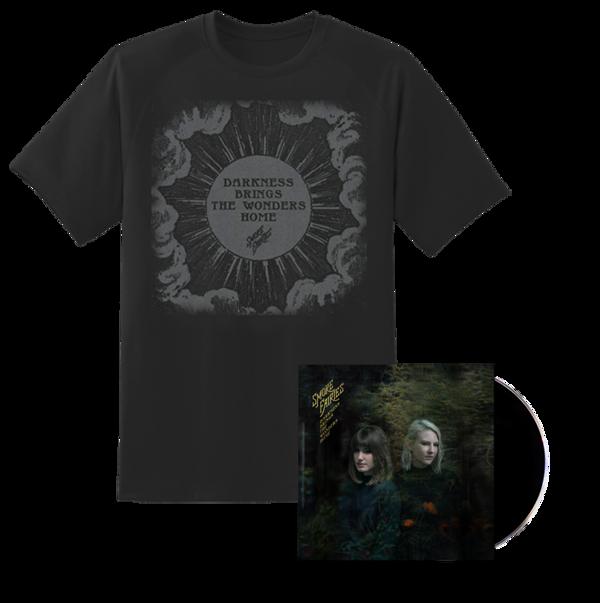 PRE-ORDER BUNDLE Smoke Fairies - 'Darkness Brings The Wonders Home' CD + T-shirt - Smoke Fairies USD