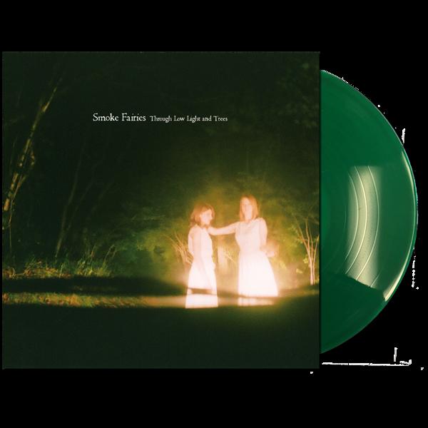 Smoke Fairies - 2021 'Through Low Light And Trees' Ltd Ed. USA Translucent Green Vinyl LP - Smoke Fairies USD