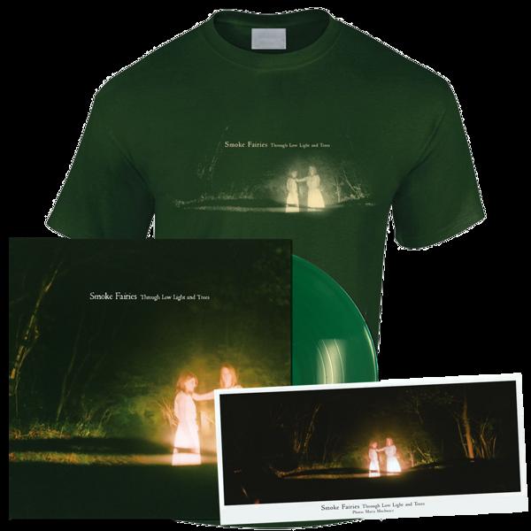 Smoke Fairies - 2021 'Through Low Light And Trees' Ltd Ed. LP + T-shirt + Ltd Ed. Photo - Smoke Fairies