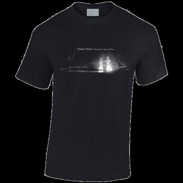 Smoke Fairies Through Low Light and Trees Black T-shirt - Smoke Fairies