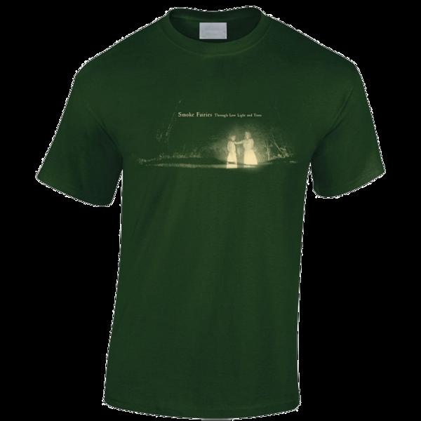 Smoke Fairies Through Low Light and Trees Green T-shirt - Smoke Fairies