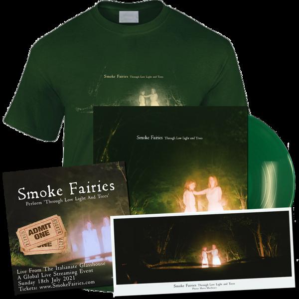 *Pre-Order* Live From The Italianate Glasshouse: Livestream Ticket + LP + T-shirt + Ltd Ed. Photo - Smoke Fairies
