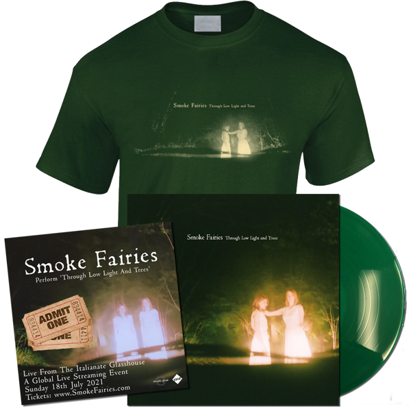 *Pre-Order* Live From The Italianate Glasshouse: Livestream Ticket + LP + T-shirt - Smoke Fairies