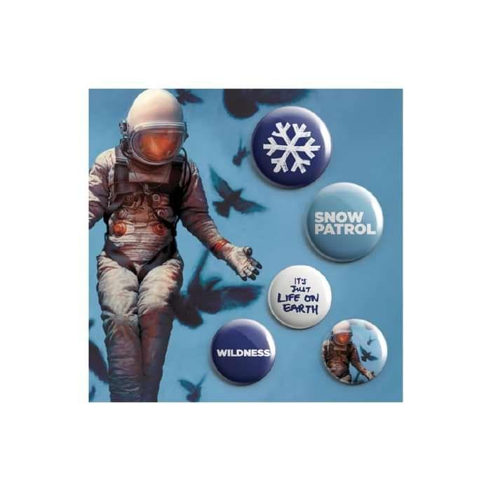 Badge Set - Snow Patrol