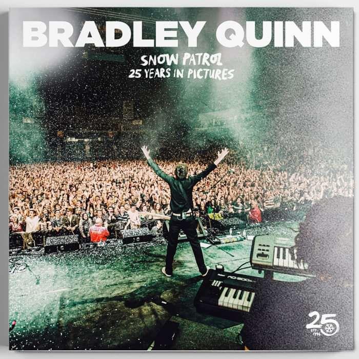 Bradley Quinn / Snow Patrol Photo Book - Snow Patrol