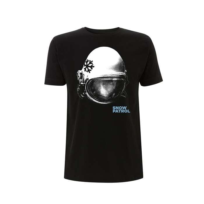 Helmet Black Tee - UK/Irish Date Back - Snow Patrol