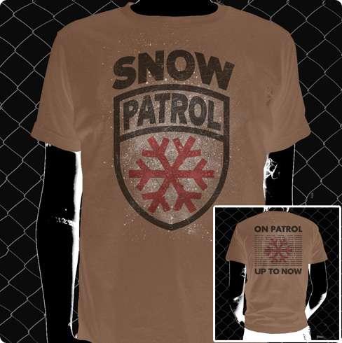On Patrol (Mens) - Tee - Snow Patrol