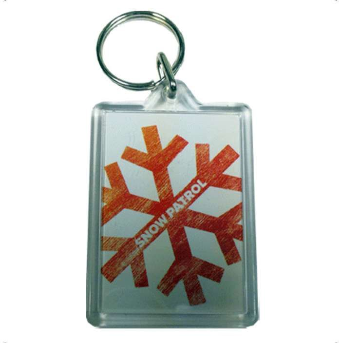 Snowflake - Keyring - Snow Patrol