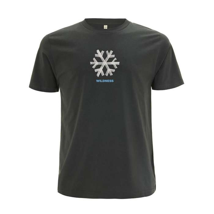 Snowflake Tour Date Back - Dark Grey Tee - Snow Patrol