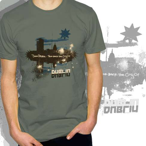 Take Back The City of Dublin - Tee - Snow Patrol